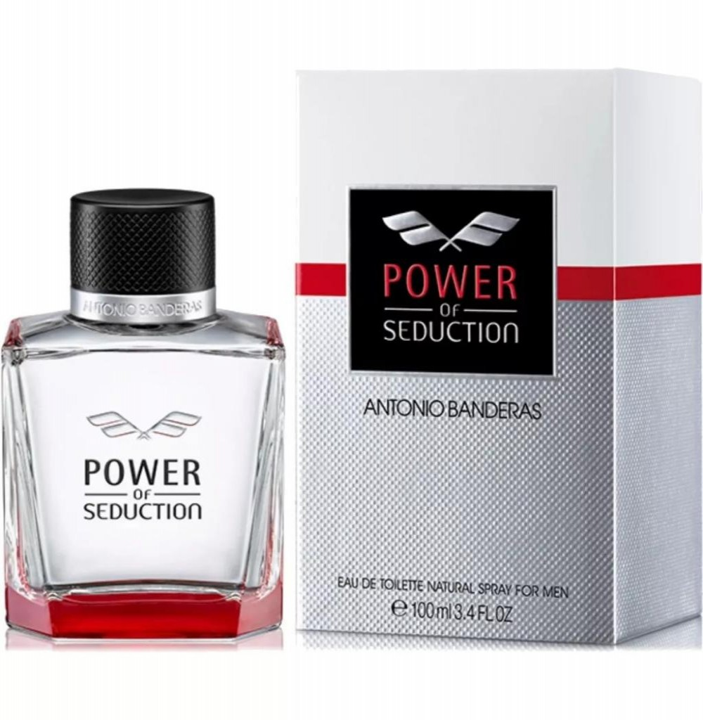 Perfume Antonio Bandera Power Of Seduction Edt 100ML - Masculino