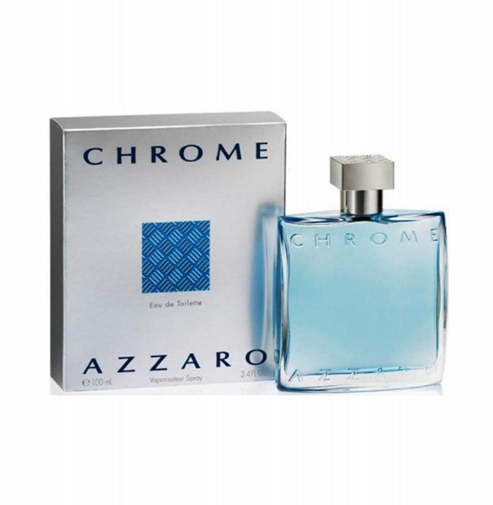 Perfume Azzaro Chrome Eau de Toilette Masculino 100 ml