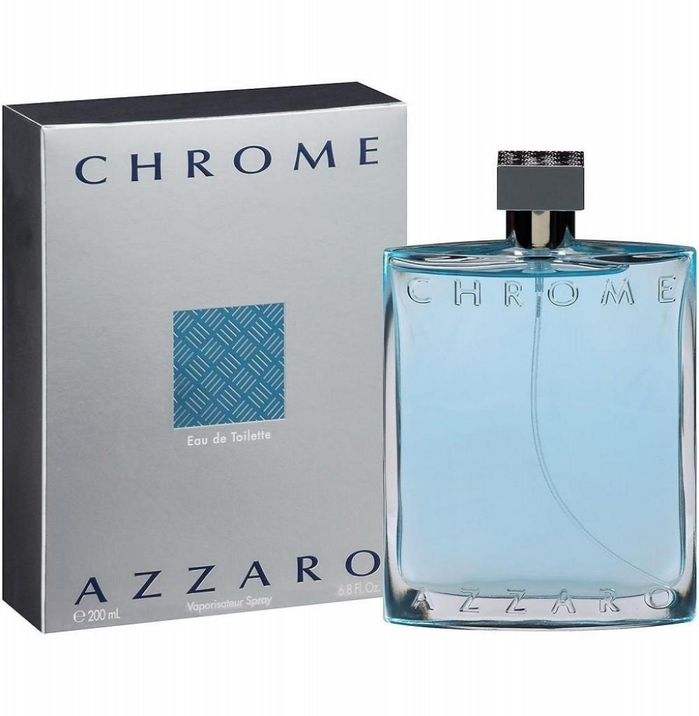 Perfume Azzaro Chrome Eau de Toilette Masculino 200 ml