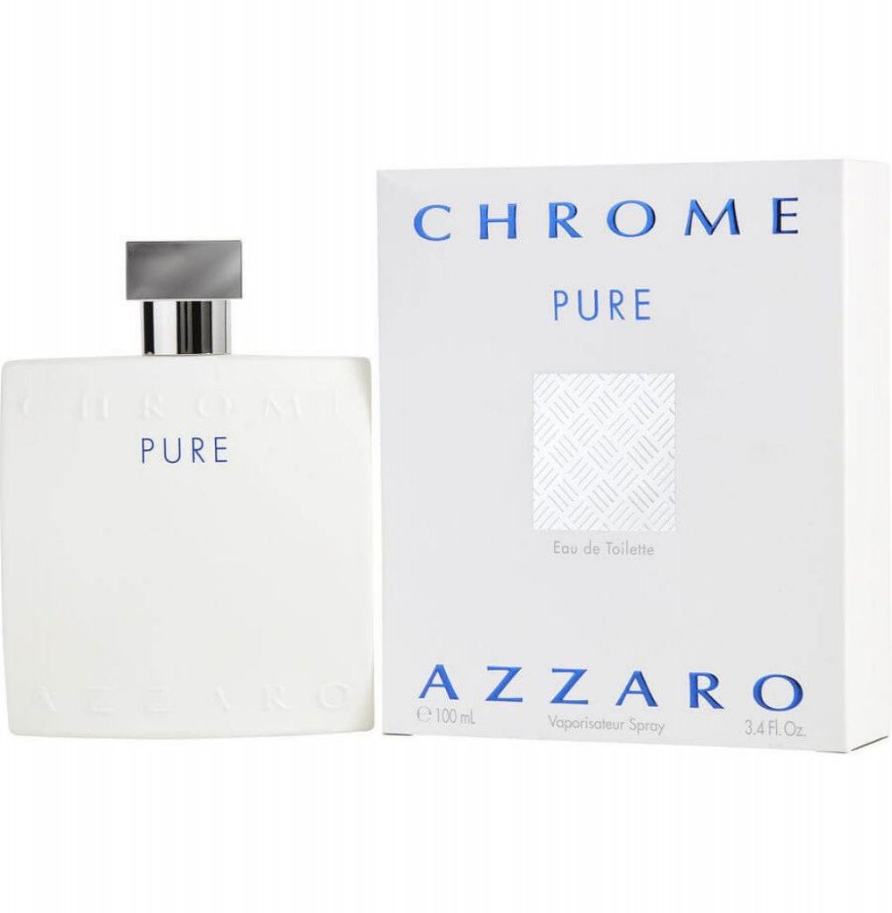 Perfume Azzaro Chrome Pure Eau de Toilette Masculino 100 ml