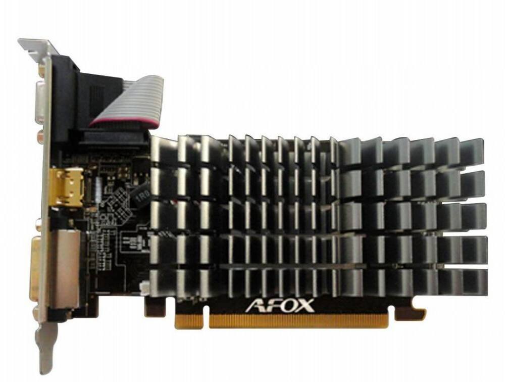 Placa de Vídeo Afox EXP. HD-5450 DDR3 AF5450-2048D3L4-V3 2GB