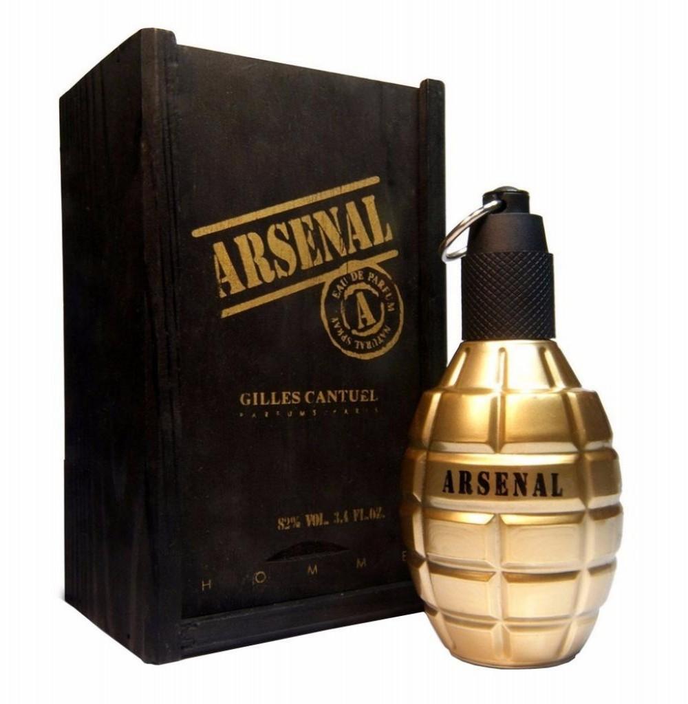 Perfume Gilles Cantuel Arsenal Gold Eau de Parfum Masculino 100ML