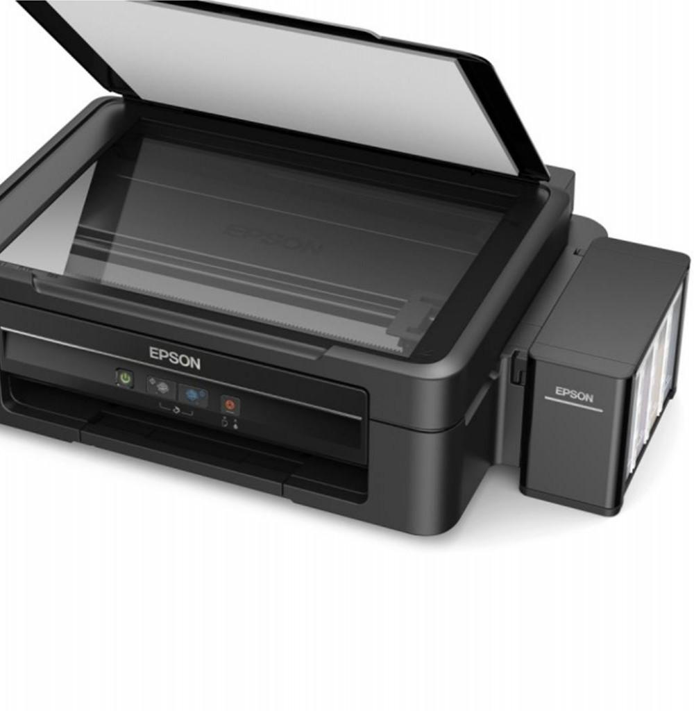 Impressora Multifuncional Epson L380 Bivolt Preto