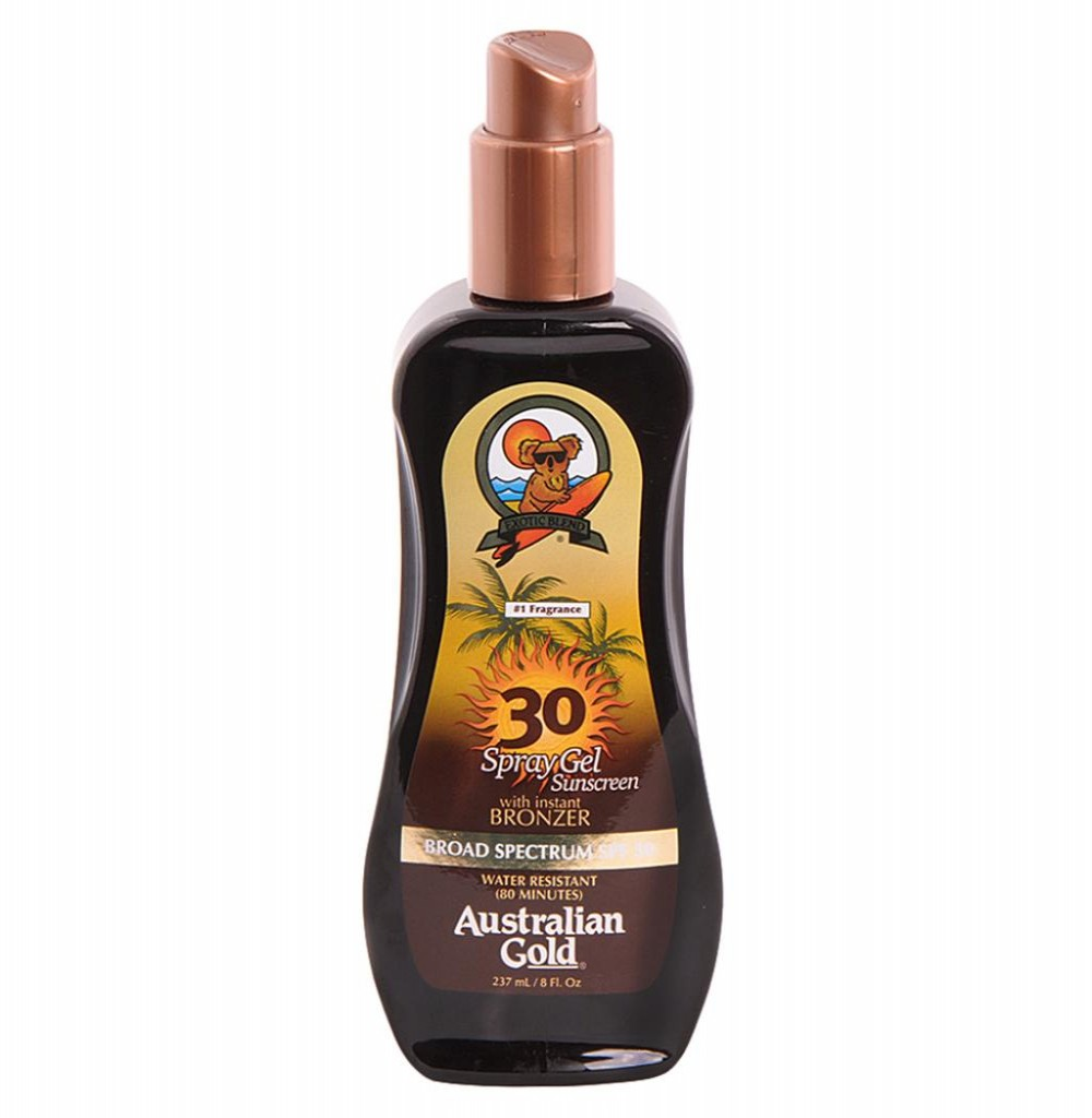 Bronzeador Australian Spray Gel FPS 30 Gold 237ml