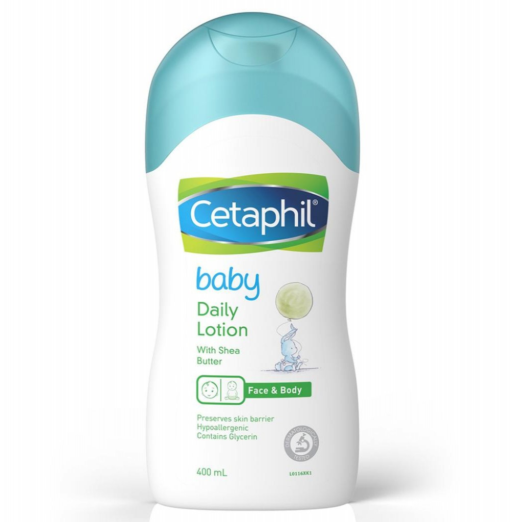 Locao Cetaphil Baby Daily Lotion Face & Body 399ML