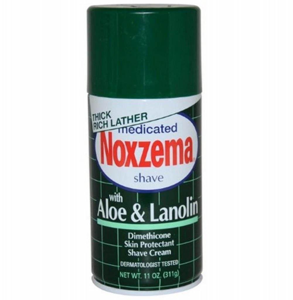 Espuma para Barbear Noxzema Aloe Lanolin 311g