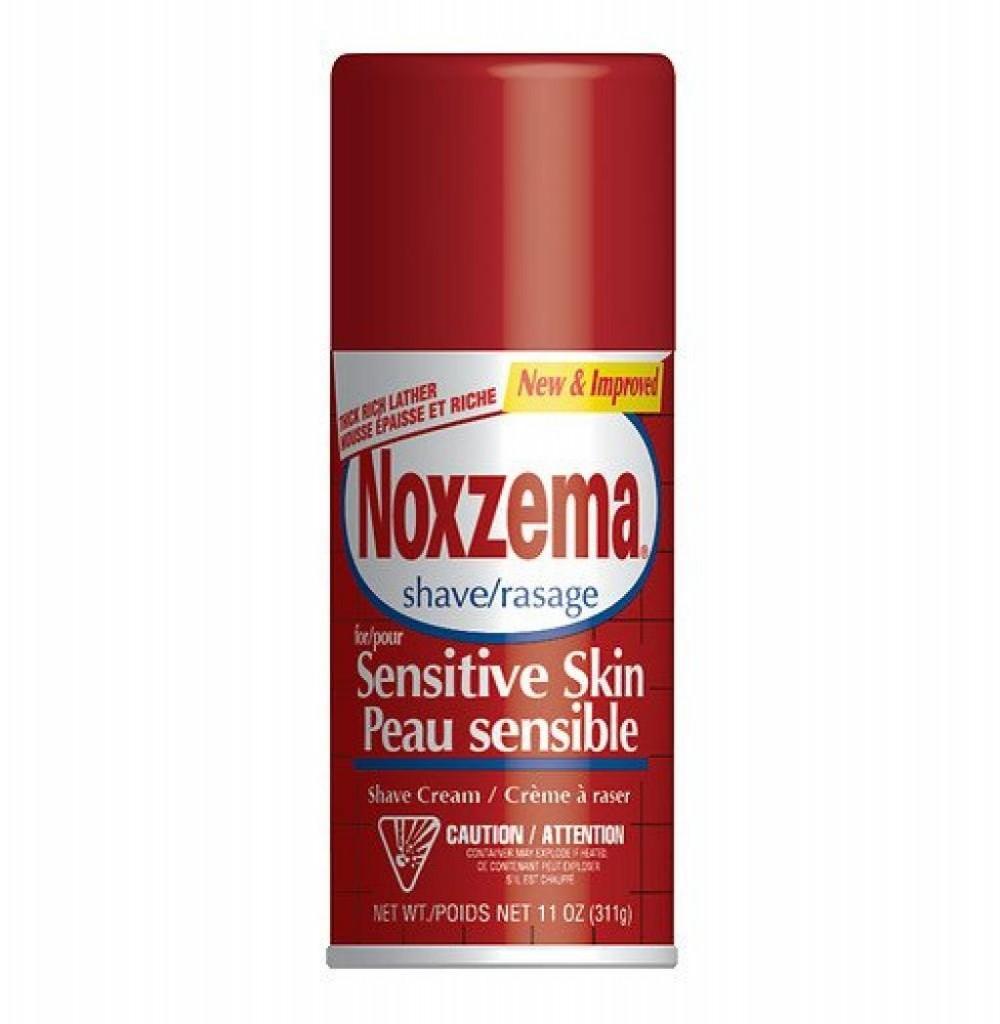 Espuma para Barbear Noxzema Sensitive Skin 311gr