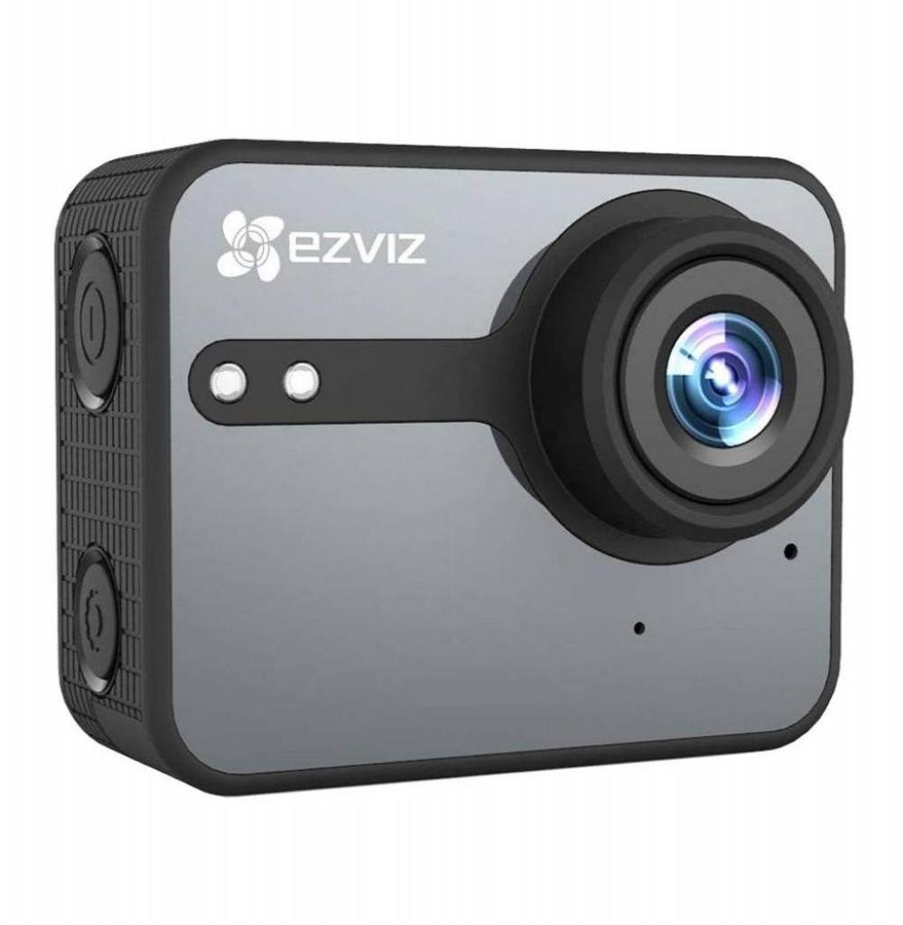 Câmera Esportiva S1C Starter Kit Cinza EZVIZ Action
