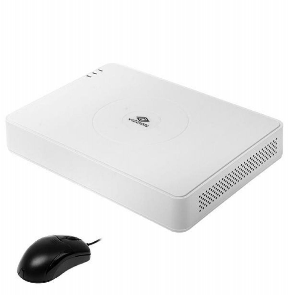NVR 8 Canais 1080P VIZZION VZ-NVR08-E1
