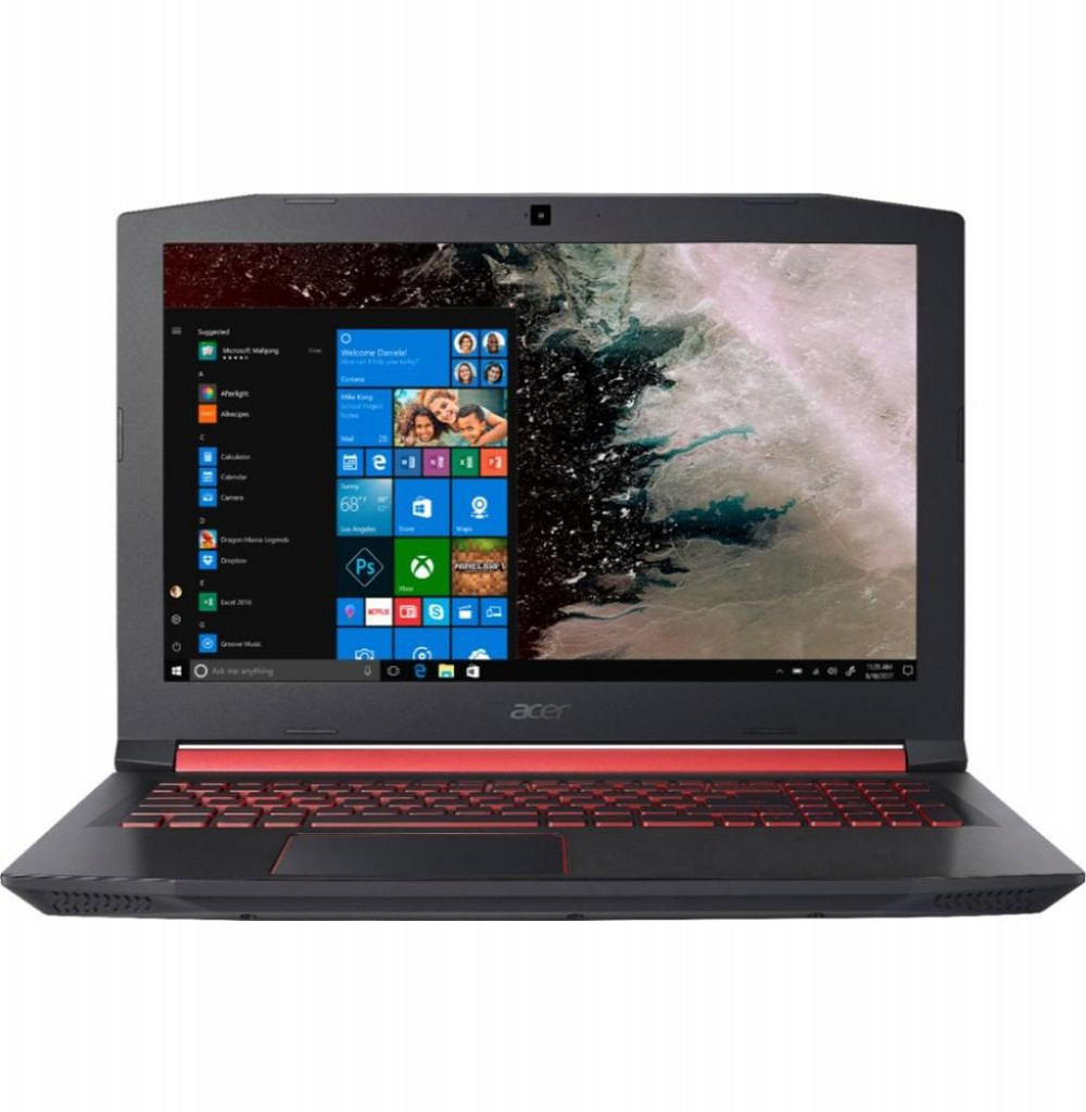 Notebook Acer Gamer/Gaming Nitro 5 AN515-42-R5GT Ryzen 5-2500U 2.0GHz / 8Gb / 256Gb SSD / 15.6""