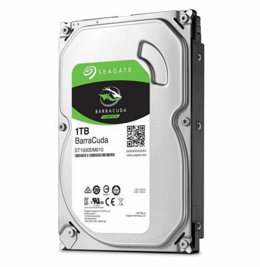 HD SATA3  1TB Seagate Barracuda