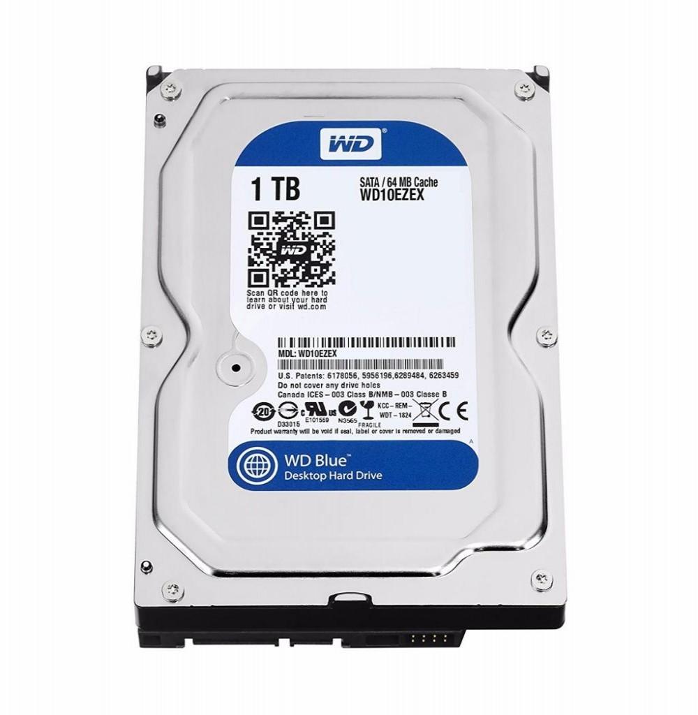 HD SATA3  1TB WD 7200 Blue