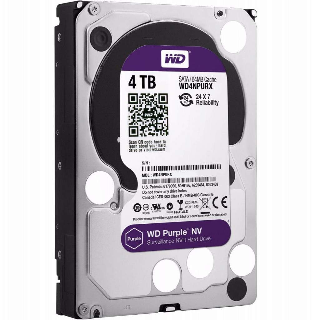 HD SATA3  4TB WD Purple WD40PURZ