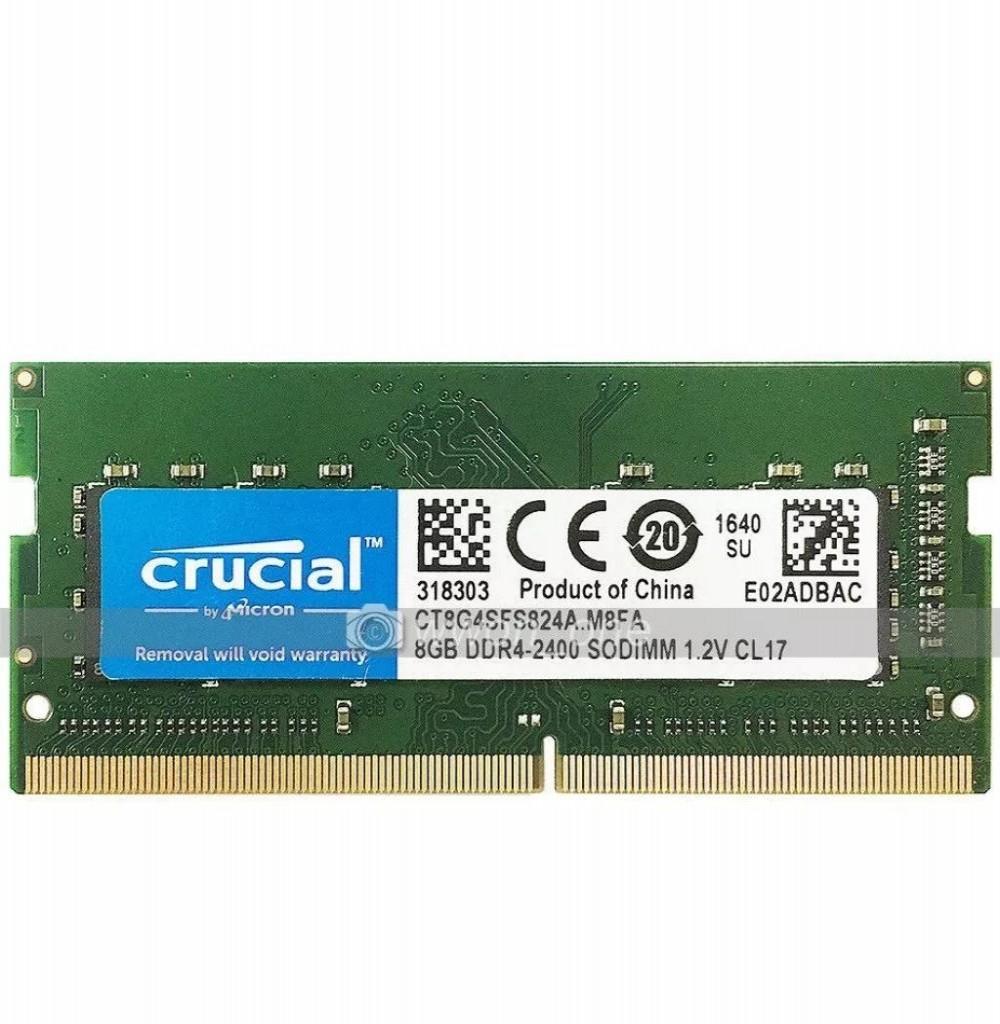 Memória Para Notebook DDR4  8GB 2400Mhz Crucial
