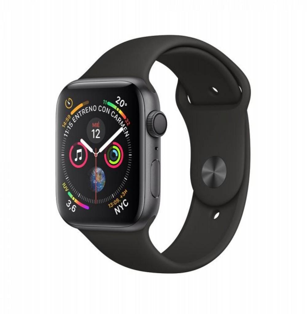 Relógio Apple Watch S4 40MM MU662LL/A Preto/Cinza