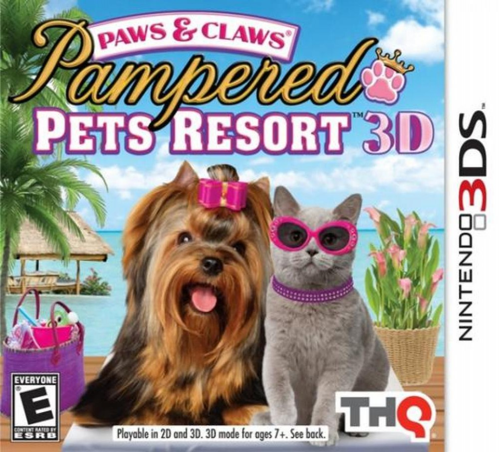 Jogo DS3D Paw & Claws Pampered Pets