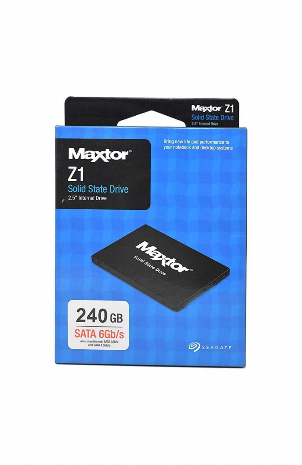 """HD Seagate SSD Maxtor Z1 240GB 2.5"""" Sata3"""
