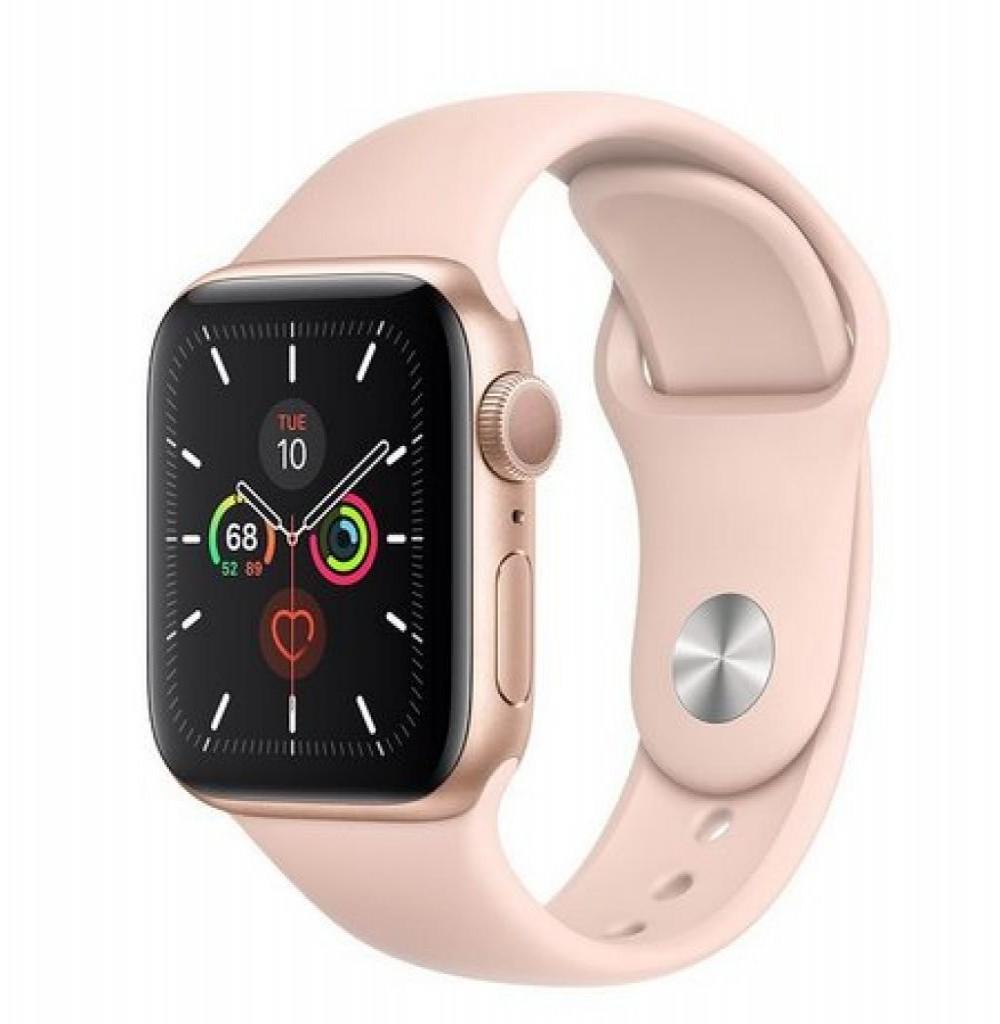 Relógio Apple S5 44MM GPS MWVE2 Dourado/ROSA
