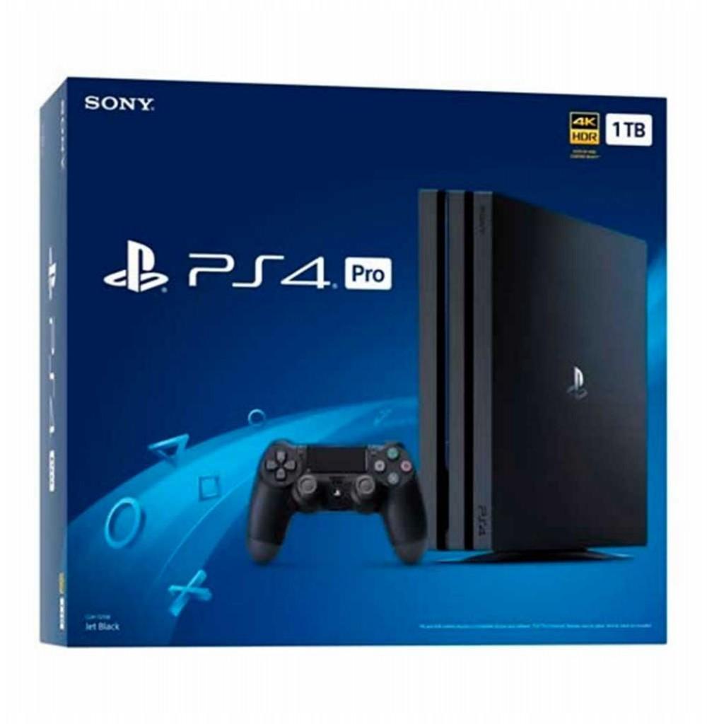 Console Sony Playstation 4 Pro 7215 - 1TB - Preto - Caixa Azul