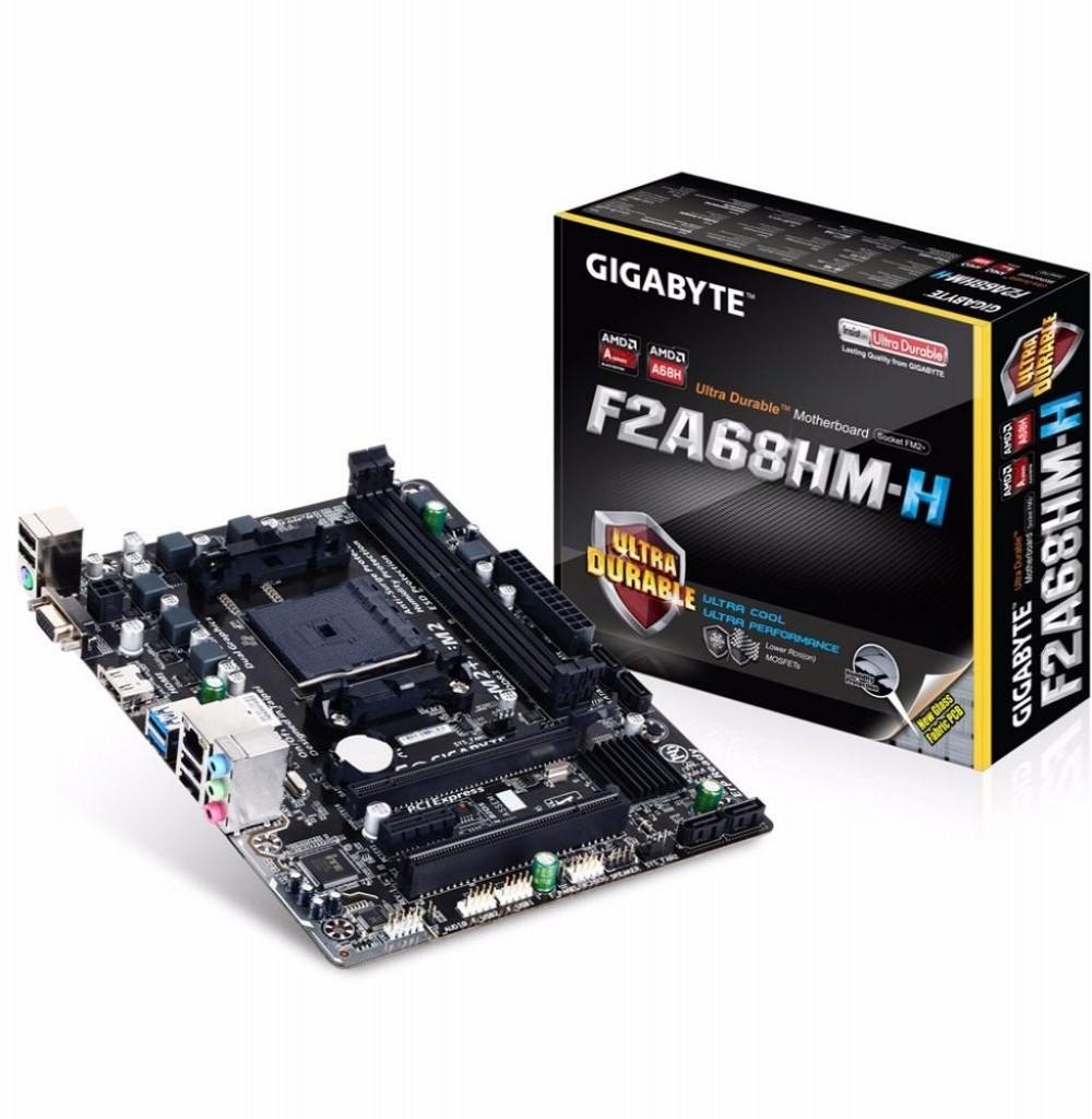 Placa Mãe Gigabyte FM2+ F2A68HM-H HDMI/VGA/USB3.0
