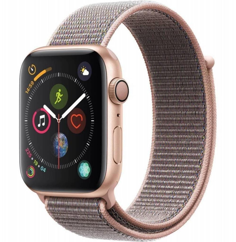 Relógio Apple S4 44MM MU6G2 Alumínio Gold Pink Sport