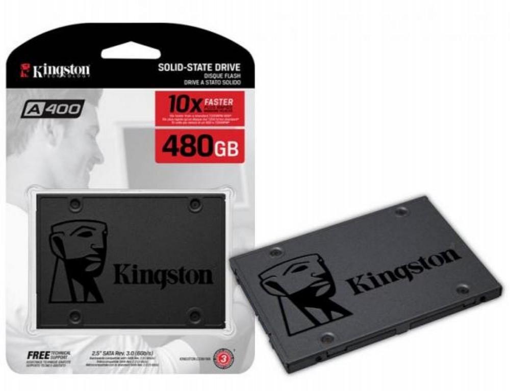 """HD Kingston SA400S37 SSD SATA3 480GB 2.5"""""""