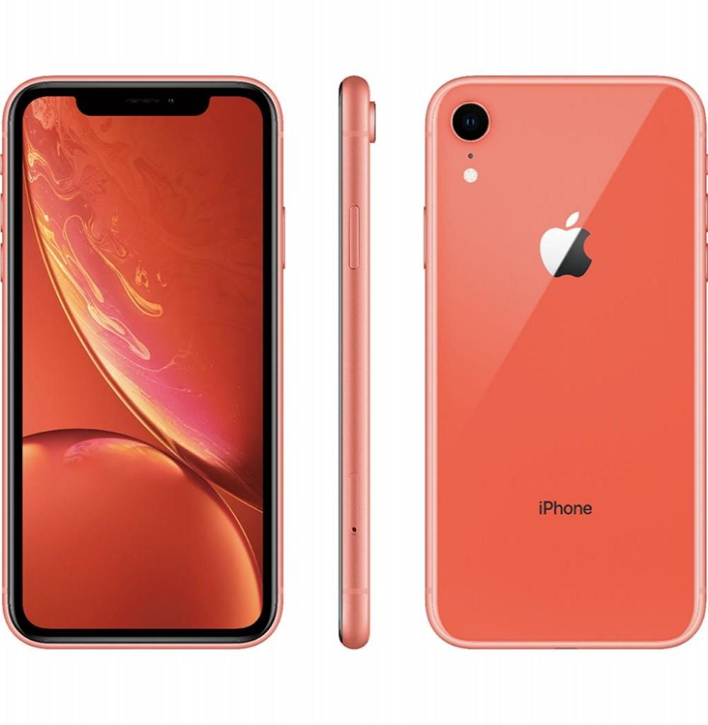 """Apple iPhone XR A2105 128GB Tela Liquid Retina 6.1"""" 12MP/7MP iOS - Coral"""
