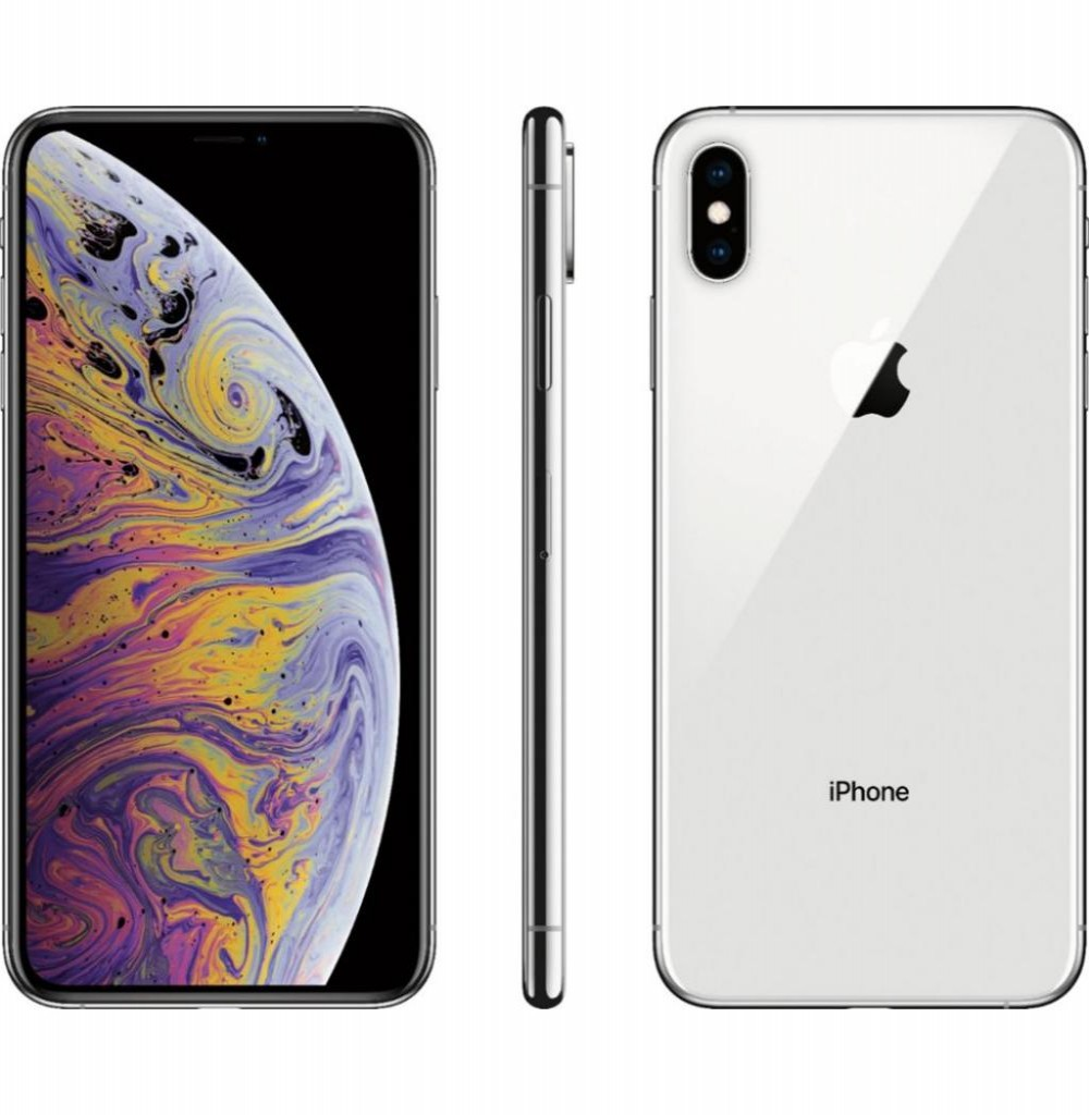 "Apple iPhone Xs A1920 64GB Tela Super Retina OLED 5.8"" 12MP/7MP iOS - Silver"