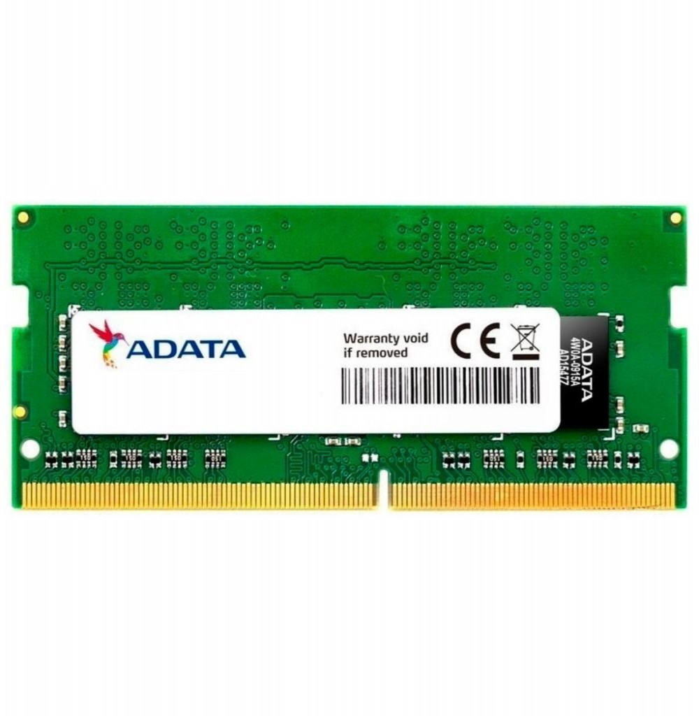 Memória Para Notebook DDR4 4GB 2400MHZ Adata AD4S2400J4G17-S