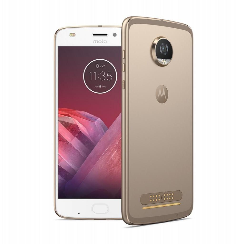 "Smartphone Motorola Moto Z2 Play XT1710-08 Dual SIM 64GB 5.5"" 12MP/5MP OS 8.0 - Dourado"