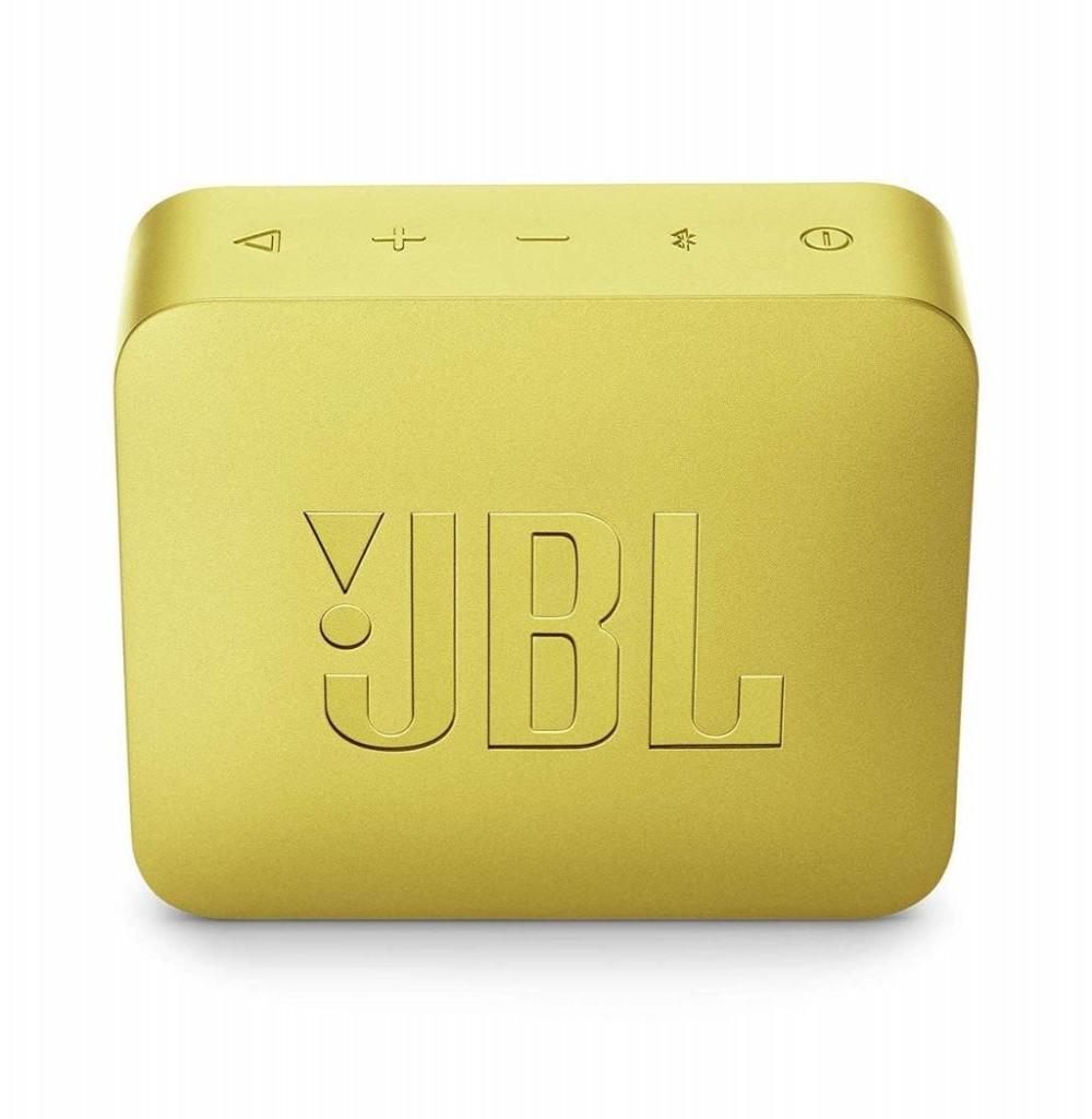 Speaker JBL Go 2 com Bluetooth/Auxiliar Bateria de 730 mAh - Amarelo