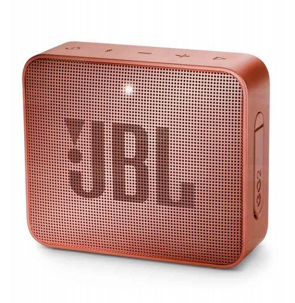 Speaker JBL Go 2 com Bluetooth/Auxiliar Bateria de 730 mAh - Cinnamon